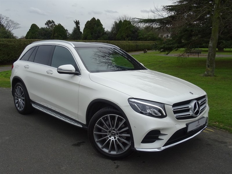 used Mercedes GLC220 D 4MATIC AMG LINE PREMIUM in in-essex