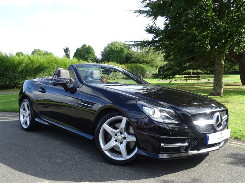 used Mercedes SLK250 D AMG SPORT in in-essex