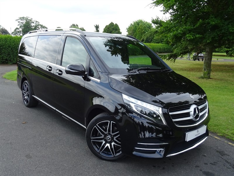 used Mercedes V220 D AMG LINE LONG in in-essex
