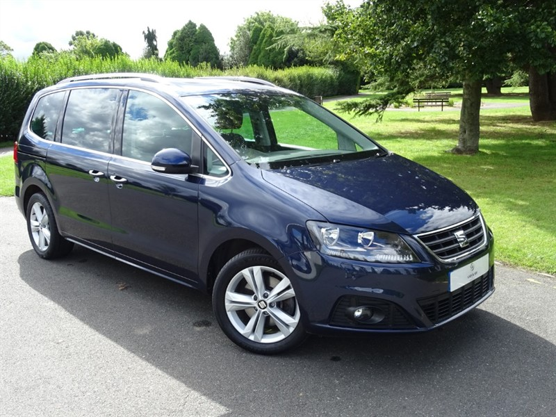 used SEAT Alhambra TDI SE LUX in in-essex