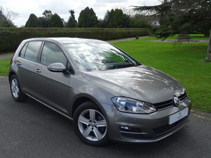 used VW Golf MATCH TDI BLUEMOTION TECH DSG in in-essex