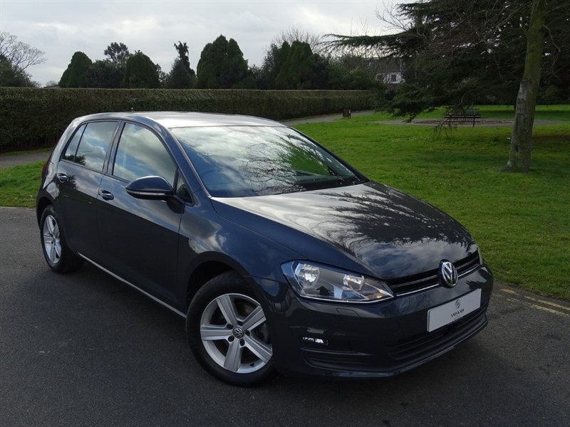 used VW Golf MATCH EDITION TDI BMT DSG in in-essex