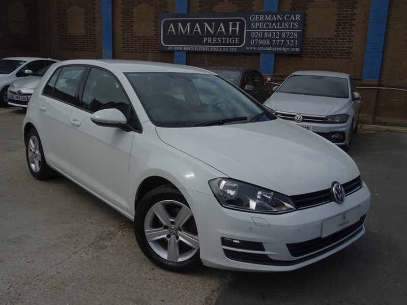 used VW Golf MATCH EDITION TSI DSG BMT in in-essex