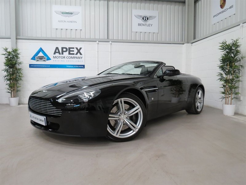 used Aston Martin Vantage 4.7 V8 ROADSTER SPORTSHIFT * FULL ASTON MARTIN SERVICE HISTORY * in swindon-wiltshire