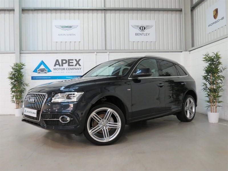 used Audi Q5 TDI QUATTRO S LINE PLUS + DAB + HEATED SEATS in swindon-wiltshire
