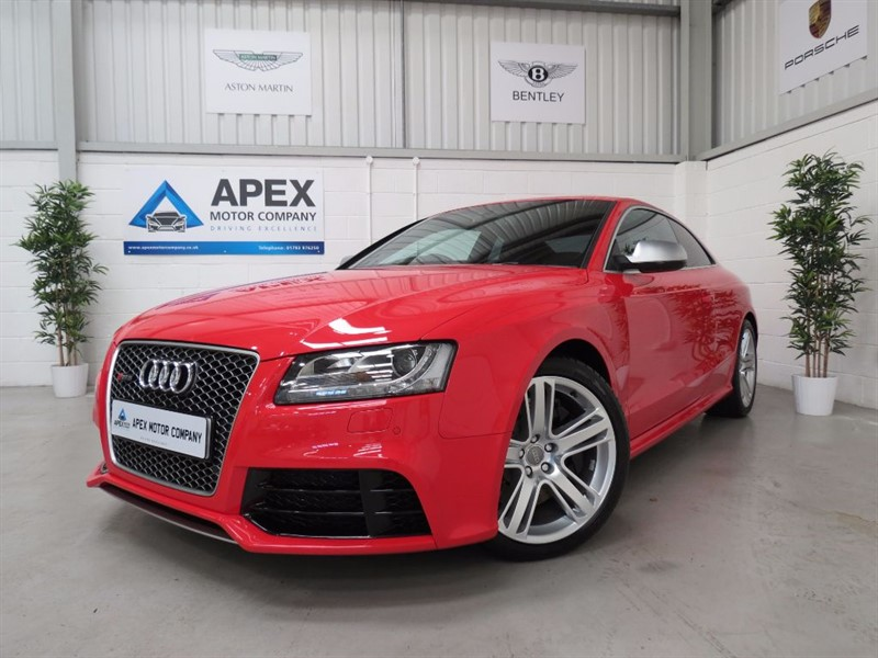 used Audi RS5 RS5 FSI QUATTRO + SOLD WITH NEW AUDI SERVICE + in swindon-wiltshire