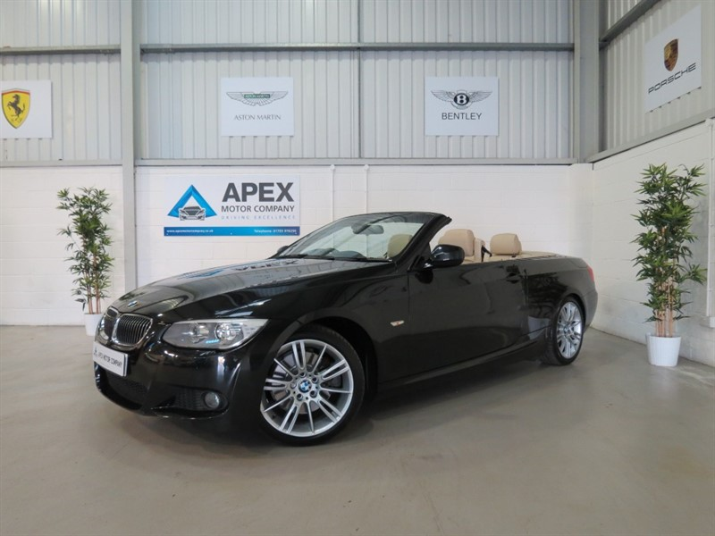 used BMW 325d M SPORT + BUSINESS NAV + DAB + HEATED SEATS in swindon-wiltshire