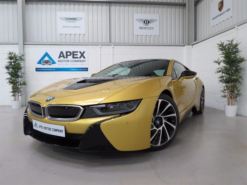 used BMW i8 ++ DELIVERY MILES ONLY + 3 YR/36,000 MILE SERVICE PACK INCLUDED ++ in swindon-wiltshire