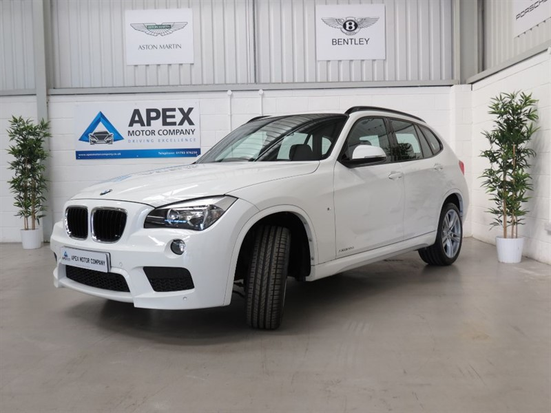 used BMW X1 XDRIVE20D M SPORT + FULL SERVICE HISTORY + FINANCE FROM 7.9% APR+ in swindon-wiltshire