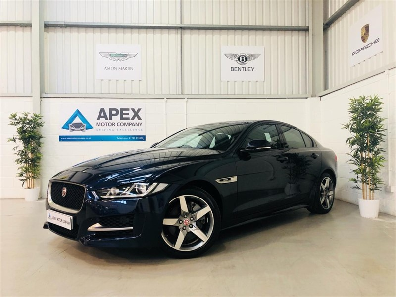 used Jaguar XE R-SPORT + BALANCE OF MANUFACTURER WARRANTY + 1 OWNER in swindon-wiltshire