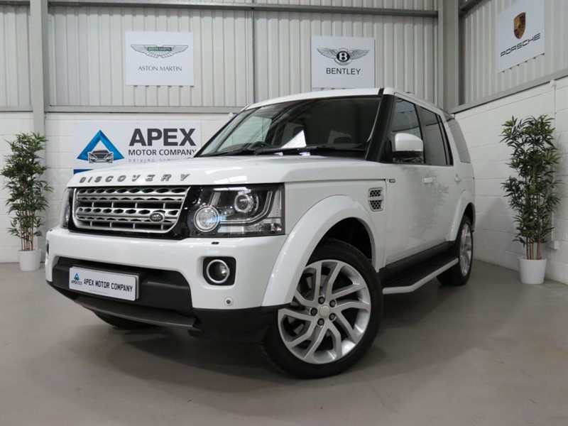 used Land Rover Discovery 4 SDV6 HSE + SATELLITE NAVIGATION + MERIDIAN SOUND + 360 DEGREE CAMERA'S in swindon-wiltshire