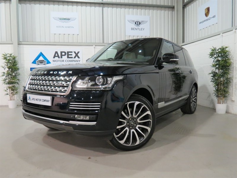 """used Land Rover Range Rover SDV8 AUTOBIOGRAPHY + DEPLOYABLE SIDE STEPS + 22"""" ALLOYS, PANORAMIC ROOF + in swindon-wiltshire"""
