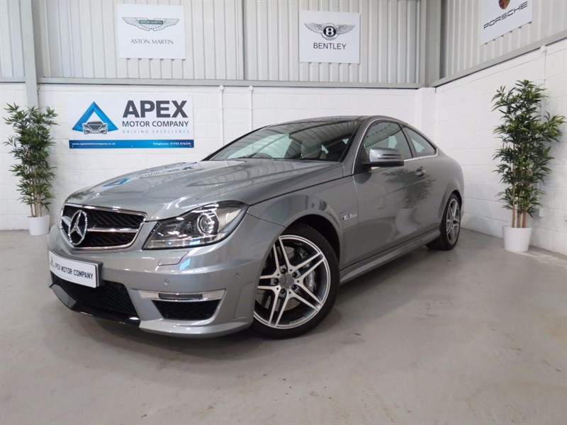 used Mercedes C63 AMG Command Navigation + Panoramic Sunroof + Memory Package +  in swindon-wiltshire