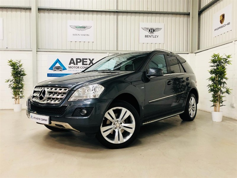 Car of the week - Mercedes ML350 CDI BLUEEFFICIENCY SPORT + FULL SERVICE HISTORY +  XENONS + COMMAND NAVIGATION - Only £14,750