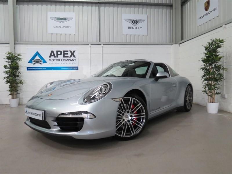 Car of the week - Porsche 911 TARGA 4S PDK * Sports Chrono Package * PCM Navigation * Full Porsche Hstory - Only £84,995