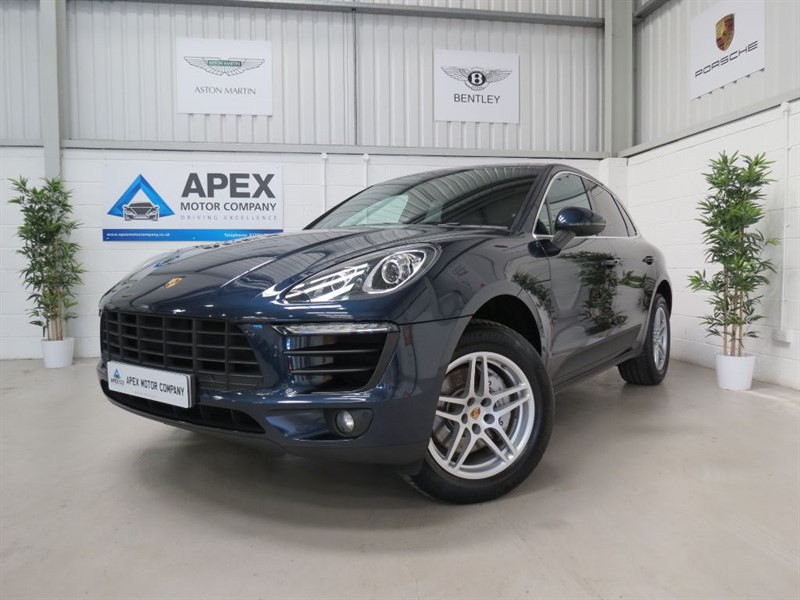 used Porsche Macan D S PDK + PCM NAVIGATION + DAB + HEATED SEATS + 3.9% APR FINANCE in swindon-wiltshire