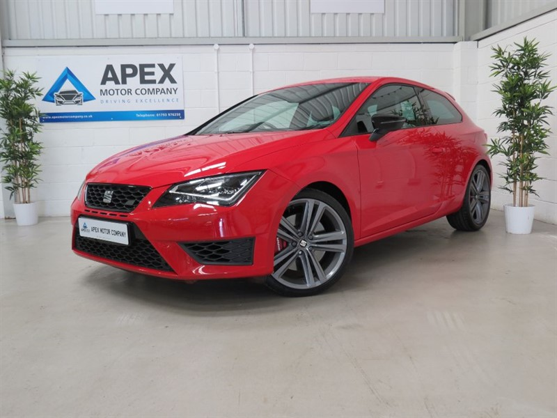 used SEAT Leon TSI CUPRA + FULL SERVICE HISTORY + FINANCE FROM 5.9% in swindon-wiltshire