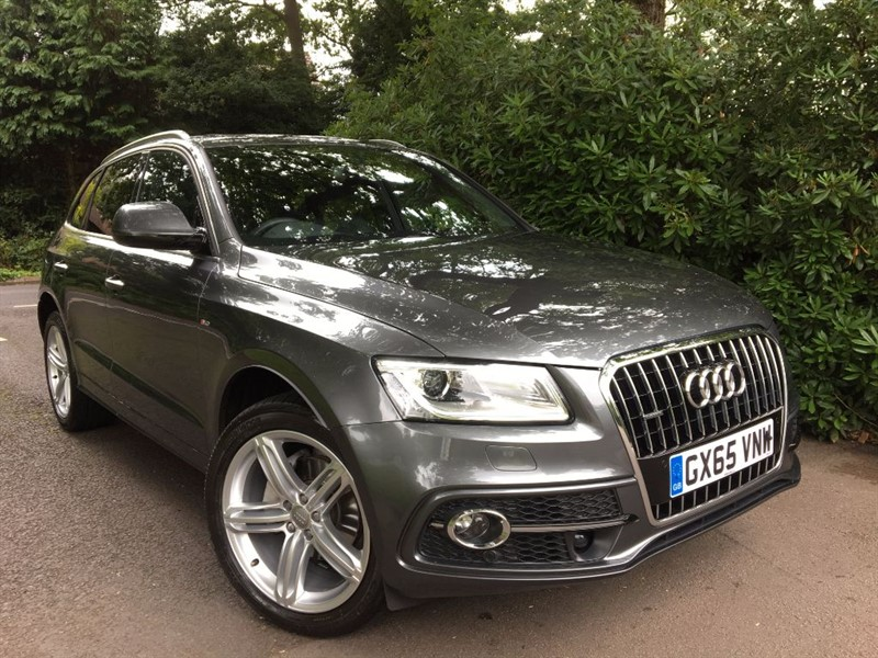 used Audi Q5 TDI QUATTRO S LINE PLUS / BIGGEST SPEC ON THE MARKET in farnborough-hampshire