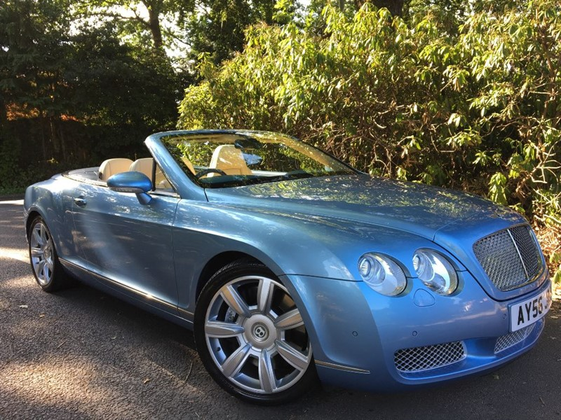 used Bentley Continental GTC Continental GTC / STUNNING COLOUR COMBINATION in farnborough-hampshire