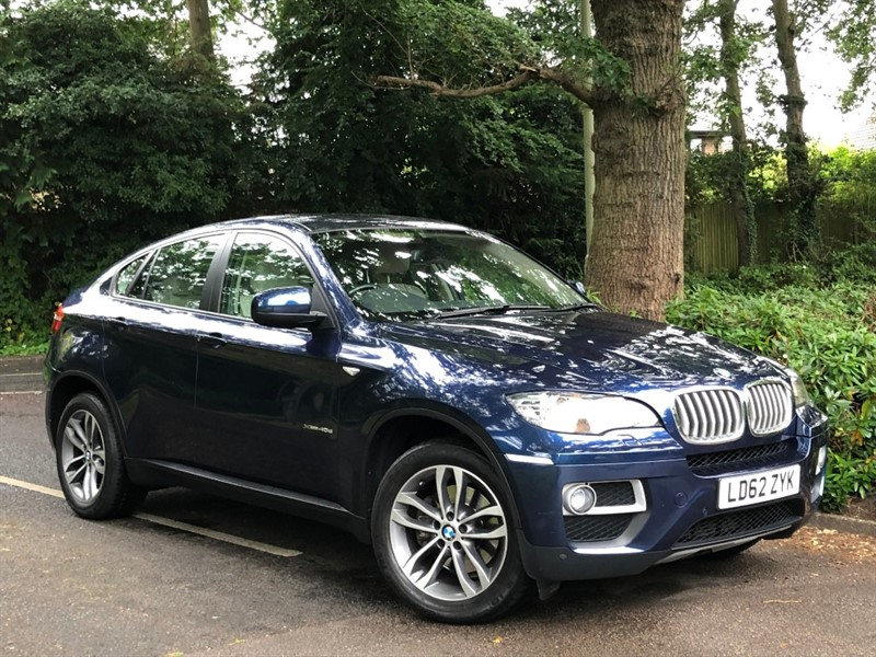 used BMW X6 XDRIVE40D+1 OWNER+AERIAL CAMERA+SUPERB EXAMPLE in farnborough-hampshire