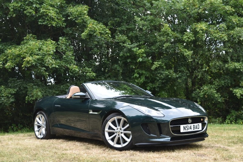 used Jaguar F-Type V6 S+STUNNING COLOUR COMBINATION+GREAT SPECIFICATION in farnborough-hampshire