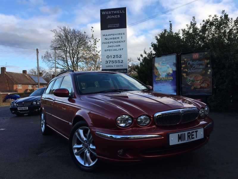 used Jaguar X-Type V6 SE / 4X4 JUST IN TIME FOR WINTER / PRIVATE REG PLATE in farnborough-hampshire