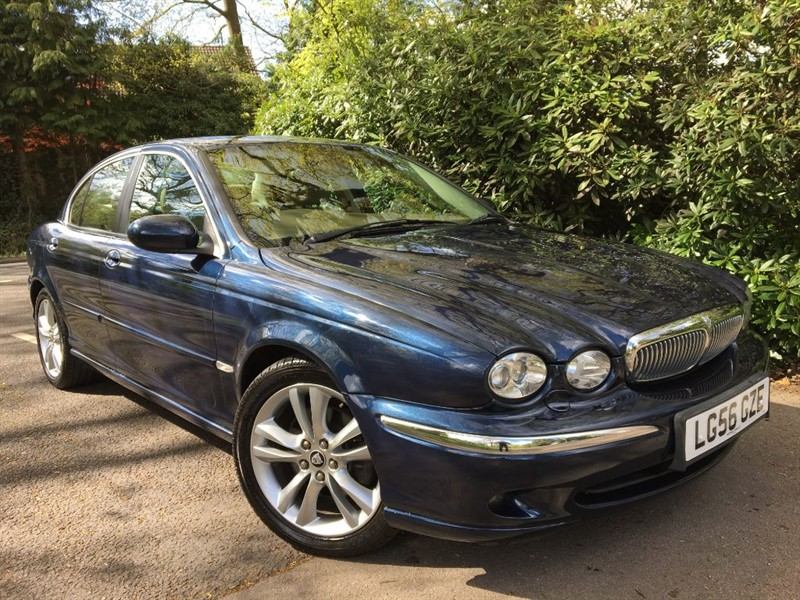 used Jaguar X-Type V6 SE / LOW MILEAGE PETROL CAR in farnborough-hampshire