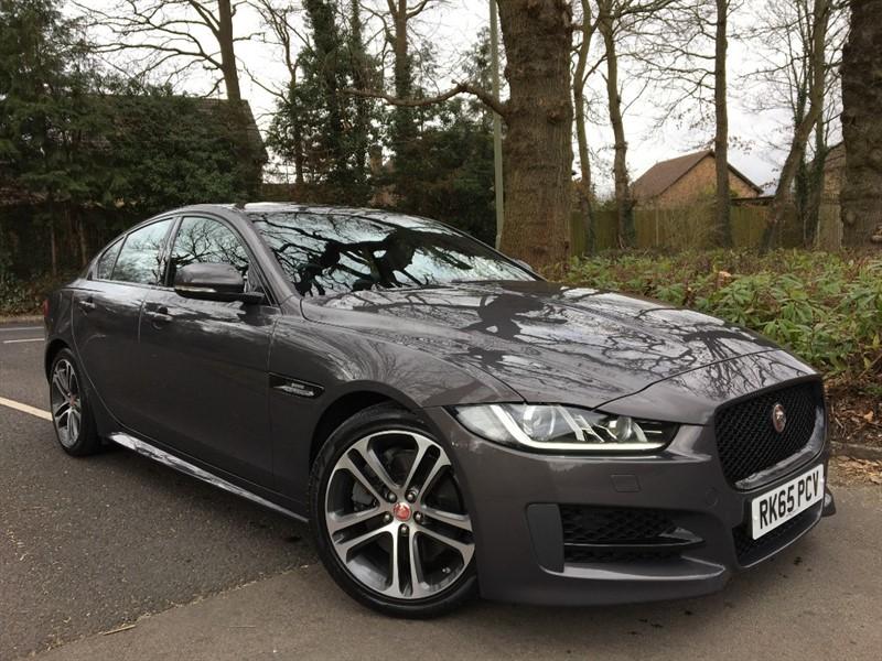 used Jaguar XE R-SPORT+PETROL CAR WITH CAMERA in farnborough-hampshire