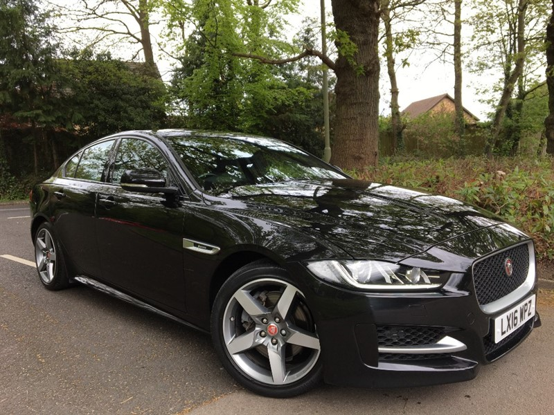used Jaguar XE R-SPORT 180 BHP+STUNNING EXAMPLE in farnborough-hampshire