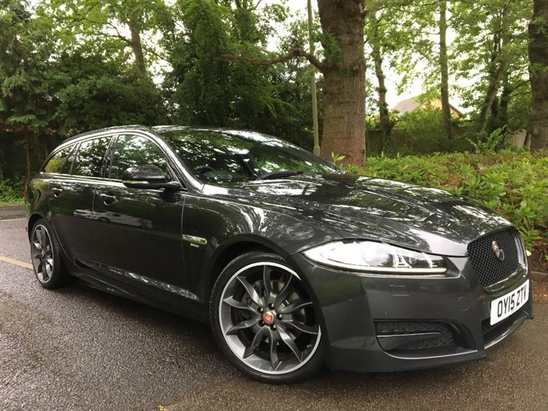 used Jaguar XF D R-SPORT BLACK SPORTBRAKE+BEAUTIFUL EXAMPLE in farnborough-hampshire