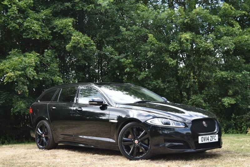 used Jaguar XF D V6 S PORTFOLIO SPORTBRAKE+BLACK PACK in farnborough-hampshire
