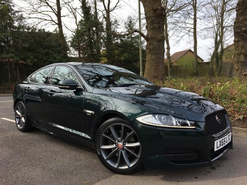 used Jaguar XF D R-SPORT 200 BHP+BLACK PACK+REVERSING CAMERA in farnborough-hampshire