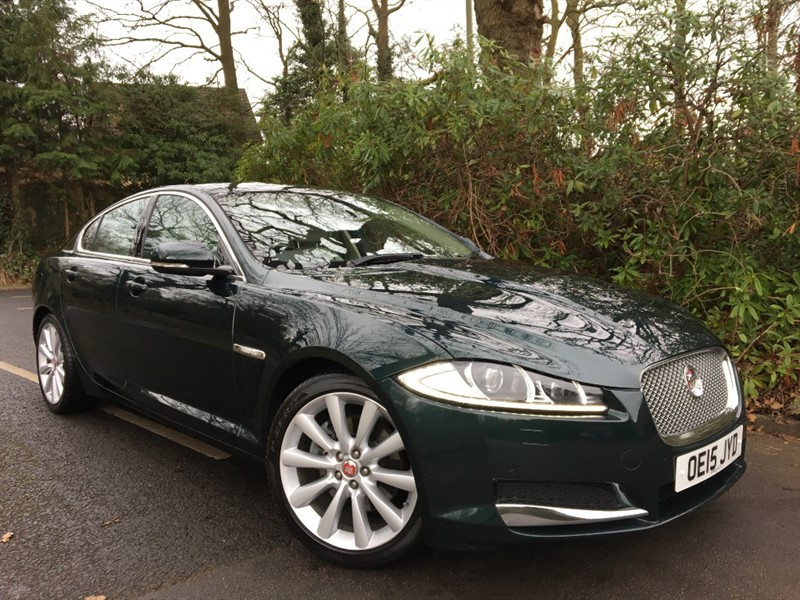 used Jaguar XF D PORTFOLIO / THE BEST COLOUR COMBINATION in farnborough-hampshire