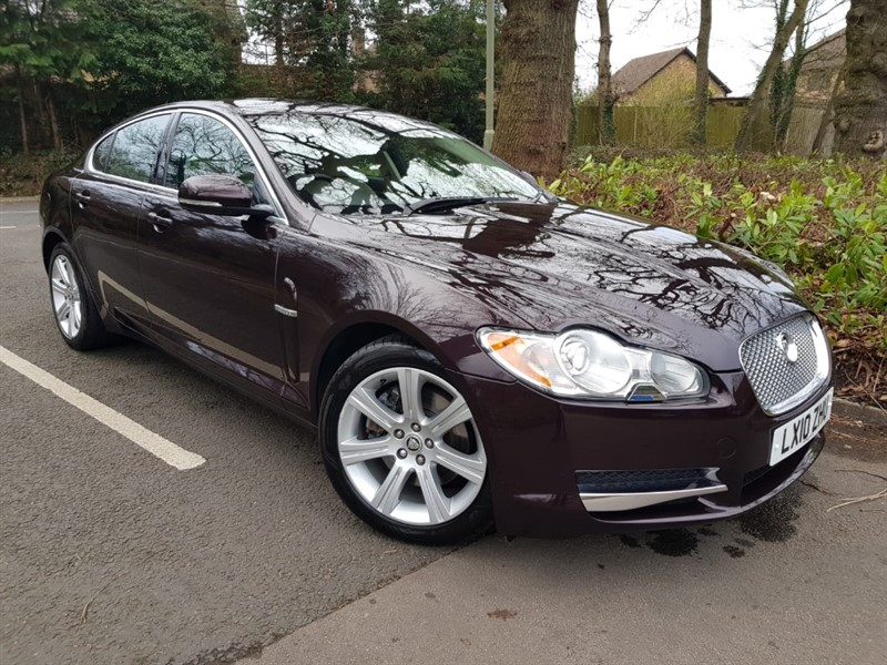 used Jaguar XF V6 LUXURY+RARE PETROL CAR+STUNNING COLOUR COMBINATION in farnborough-hampshire