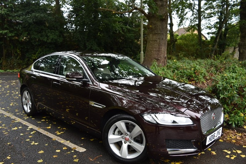 used Jaguar XF D PORTFOLIO+THE BEST COLOUR COMBINATION AND EXTREMELY LOW MILES in farnborough-hampshire