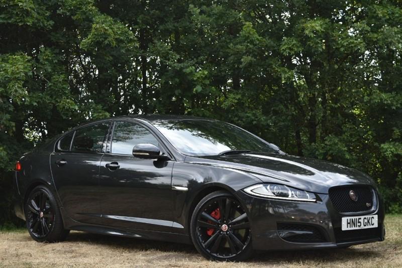 used Jaguar XF S PORTFOLIO+BLIND SPOT MONITOR+FULL JAGUAR HISTORY+BLACK PACK in farnborough-hampshire