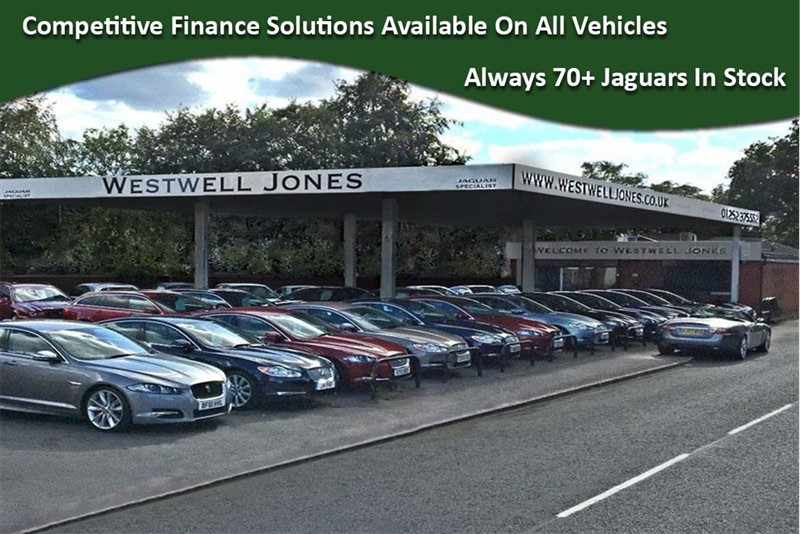 used Jaguar XF D V6 S WITH BLACK PACK AND PANORAMIC SUNROOF in farnborough-hampshire