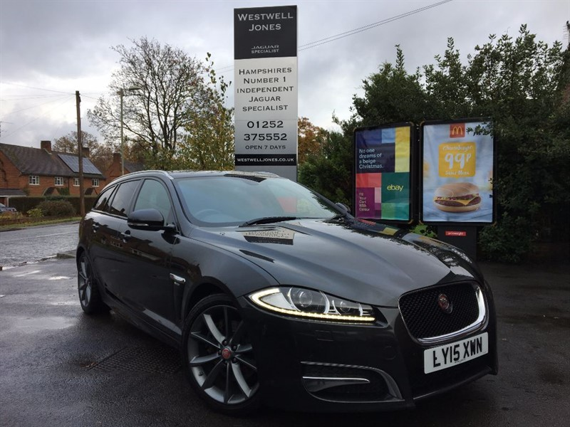 used Jaguar XF D R-SPORT SPORTBRAKE / REVERSING CAMERA in farnborough-hampshire