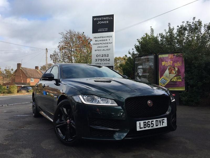 "used Jaguar XF R-SPORT / BLACK PACK AND 19"" ALLOYS in farnborough-hampshire"
