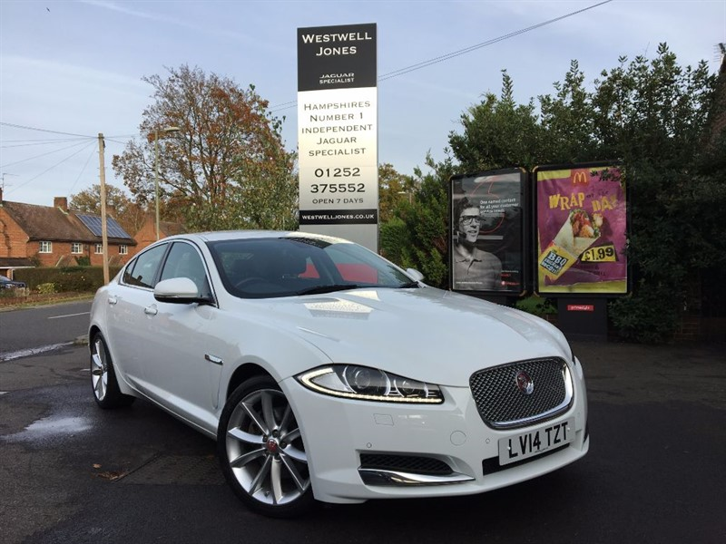 used Jaguar XF D V6 PREMIUM LUXURY in farnborough-hampshire