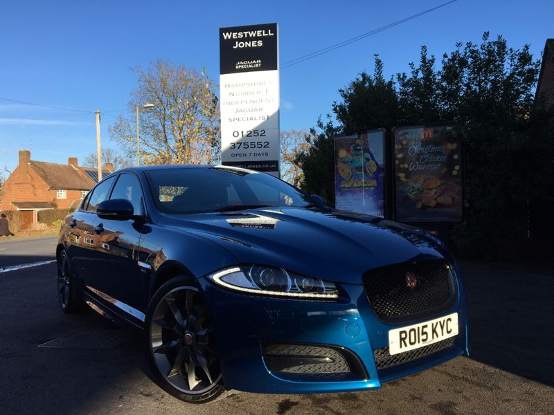 used Jaguar XF D R-SPORT BLACK / VERY RARE MODEL in farnborough-hampshire