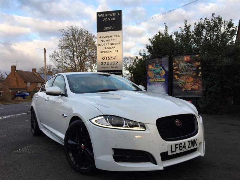 used Jaguar XF D R-SPORT / BLACK PACK / 200 BHP in farnborough-hampshire