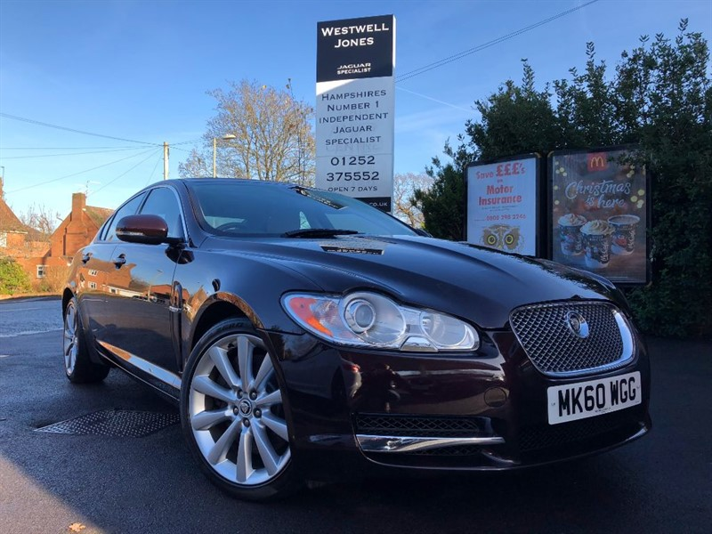 used Jaguar XF V6 LUXURY / BEST COLOUR COMBINATION in farnborough-hampshire