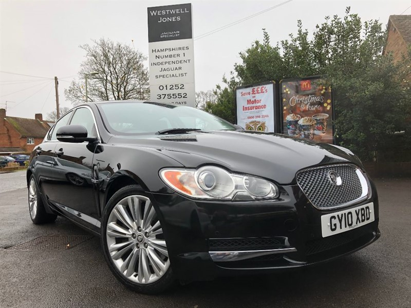 used Jaguar XF V6 PREMIUM LUXURY / REVERSING CAMERA in farnborough-hampshire