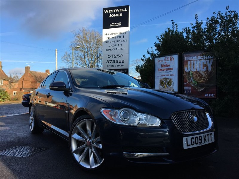 used Jaguar XF V6 S PORTFOLIO 275 BHP / BLIND SPOT MONITOR / CAM BELT JUST REPLACED in farnborough-hampshire
