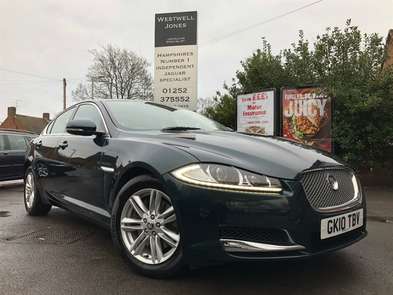 used Jaguar XF D V6 LUXURY / STUNNING COLOUR COMBINATION in farnborough-hampshire