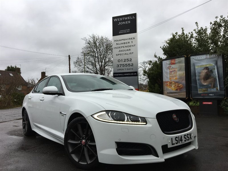 used Jaguar XF D V6 R-SPORT / STUNNING COLOUR COMBINATION in farnborough-hampshire