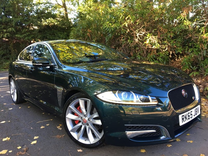 used Jaguar XF D V6 S PORTFOLIO / THE BEST COLOUR COMBINATION FOR ANY JAGUAR in farnborough-hampshire