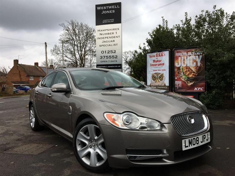 used Jaguar XF PREMIUM LUXURY V8 / EXTREMELY RARE in farnborough-hampshire