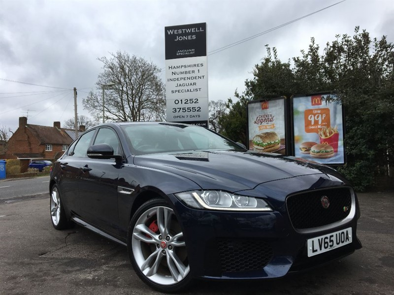used Jaguar XF V6 S SUPERCHARGED 375 BHP in farnborough-hampshire